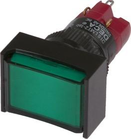 D16LMT1-1abHG, Кнопка с LED подсветкой 250В/5А