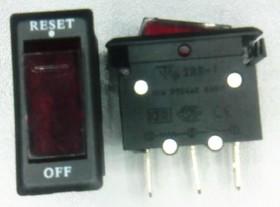 IRS-1-R7, Выключатель с лампочкой (250В 7А)