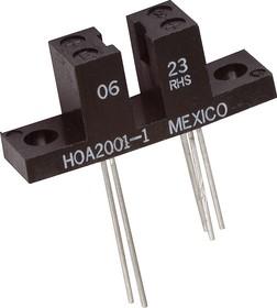 HOA2001-001, Диодно-транзисторный щелевой (Optoschmitt)
