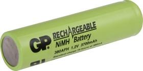 380AFH (7/5AF), Аккумулятор никель-металлгидридный NiMH 3700mAh (1шт) 1.2В
