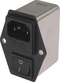 DL-6DZ2KR, 6А, 250В, Сетевой фильтр