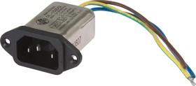 DL-1DZX2, 1А, 250В, Сетевой фильтр