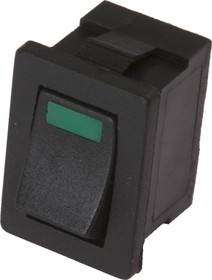 MIRS-101-3D (с зеленой подсветкой), Переключатель ON-OFF (6A 125VAC, 3A 250VAC, 15A 12VDC)