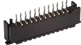 12FDZ-BT, Вилка для плоского кабеля 2.54мм