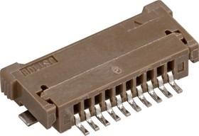 10FPZ-SM-TF, Вилка на плоский кабель 1.0мм