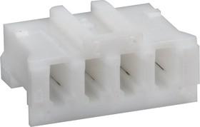 SCT2001H-04P (PHR-4), Корпус разъема розетка на кабель 2.0 мм (без контактов)