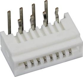 08FE-ST-VK-N, Вилка на плоский кабель 1.25мм