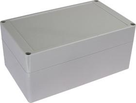 Фото 1/2 G2111, Корпус для РЭА 200х120х90мм, пластик, светло-серый