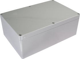 Фото 1/2 G2018, Корпус для РЭА 240х160х90, пластик, светло-серый