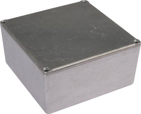 Фото 1/3 G0474, Корпус для РЭА 120.5х120.5х59.2мм, металл
