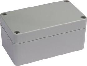 Фото 1/3 G205, Корпус для РЭА 115х65х55 мм, пластик, светло-серый