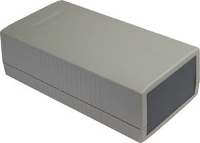 G454, Корпус для РЭА 190х100х60 мм, пластик, светло-серый