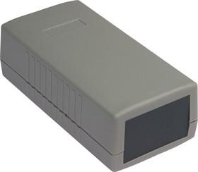 Фото 1/3 G438, Корпус для РЭА 120х60х40 мм, пластик, светло-серый