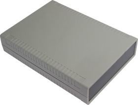 Фото 1/2 G766, Корпус для РЭА 140х190х40 мм, пластик, светло-серый, темно-серая панель