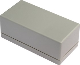Фото 1/4 G1068G, Корпус для РЭА 95х48х38мм, пластик, серый