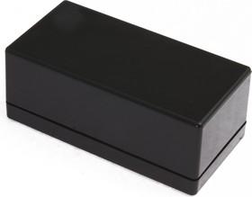 Фото 1/3 G1068B, Корпус для РЭА 95х48х38мм, пластик, черный