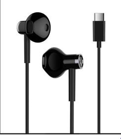 Фото 1/2 X18718, Наушники Xiaomi Mi Dual Driver Earphones (Type-C) (Black)