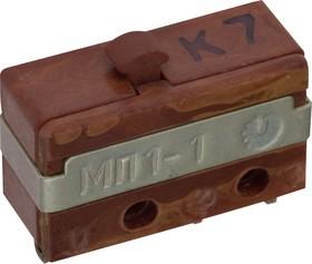 Фото 1/2 МП1-1, Микропереключатель 2А 250VAC