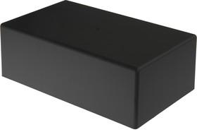 Фото 1/2 G1037BA, Корпус для РЭА 189х113х63.9, пластик, черный, алюминиевая панель