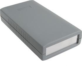 G413A, Корпус для РЭА 150х80х30мм, пластик, темно-серый, алюминиевая панель