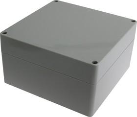 Фото 1/2 G288, Корпус для РЭА 160х160х90 мм, пластик, светло-серый