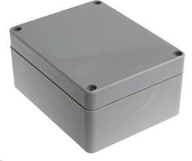 Фото 1/3 G212, Корпус для РЭА 115х90х55 мм, пластик, светло-серый