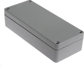 Фото 1/2 G109P, Корпус для РЭА 150x63x36.5мм окрашенный, металл, герметичный, серый