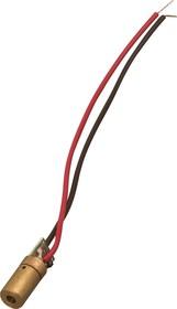 Фото 1/3 S-9, Лазерный модуль d6х18mm, точка, 5мВт, красный, 650нм