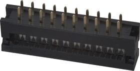 FDC-20 (DS1018-20), Вилка на плату 2.54мм на шлейф