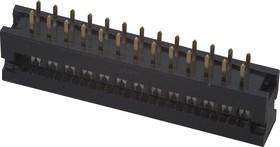 DS1018-26 SIBX (FDC-26), Вилка на плату 2,54мм 26 pin на шлейф (шаг 1.27 мм)