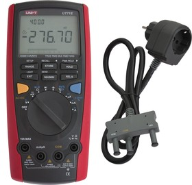 Фото 1/5 UT71E, Мультиметр цифровой с автоматическим выбором диапазона, true RMS, порт USB