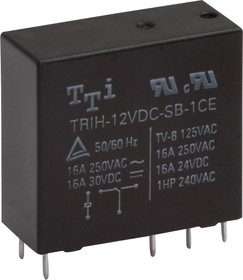 TRIH-24VDC-SD-1AH-R, Реле 1зам. 24V / 10А250VAC