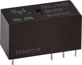 Фото 1/2 TRIL-24VDC-SD(SB)-2CM-R (RoHs),реле24V/8A,250VAC