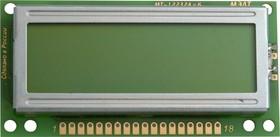 Фото 1/2 MT-6116B-1YLG, ЖК матрица 61х16, с подсветкой