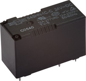 507-1CH-F-C 12VDC (845HN-1C-C 12VDC), Реле 1пер. 12В / 10A, 240V