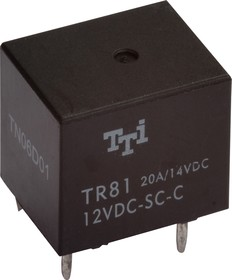 TR81-12VDC-SC-C-R, Реле 1пер. 12V / 20A, 14VDC