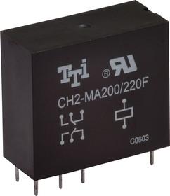 CH2-MA-200/220F, Реле 2пер. 220В / 5А, 250VAC ( снято с производства)