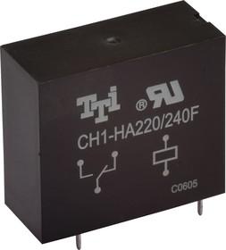 CH1-HA220/240F ( снято с производства), Реле 1пер. 220В / 10А, 250VAC