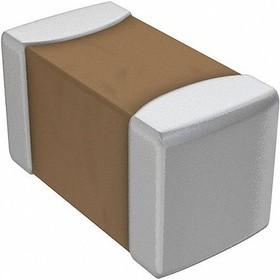 GJM1555C1H4R7BB01D, Cap Ceramic 4.7pF 50V C0G 0.1pF Pad SMD 0402 125°C T/R