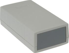 Фото 1/3 G445, Корпус для РЭА 150х80х45 мм, пластик, светло-серый