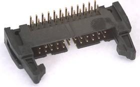 Фото 1/2 SCM-24R (DS1011-24R) (IDCC-24MR), Вилка угловая с защелкой