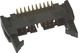 Фото 1/2 SCM-20R (IDCC-20MR) (DS1011-20R), Вилка угловая с защелкой