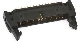 SCM-30 (DS1011-30S) (IDCC-30MS), Вилка прямая с защелкой