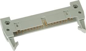 IDCC-40 (DS1012-40), Вилка 2.54мм на шлейф с защелкой