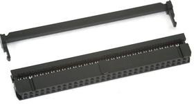 IDC-60F (DS1016-60), Розетка 2.54мм на шлейф 60 pin с фиксатором кабеля