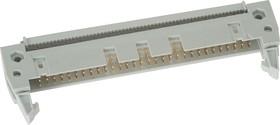 IDCC-60 (DS1012-60), Вилка 2.54мм на шлейф с защелкой