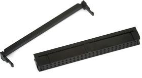 Фото 1/2 IDC-50F (DS1016-50), Розетка 2.54мм на шлейф с фиксатором кабеля