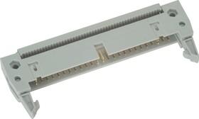 IDCC-50 (DS1012-50), Вилка 2.54мм на шлейф с защелкой