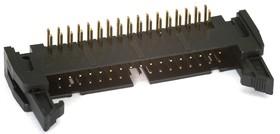 SCM-34R (DS1011-34R) (IDCC-34MR), Вилка угловая с защелкой