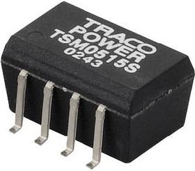 Фото 1/2 TSM0505D, DC/DC преобразователь, 1Вт, вход 5В, выход 5В,-5В/100mA